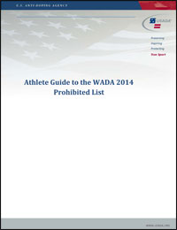 Download the Athlete Guide to the Prohibited List PDF