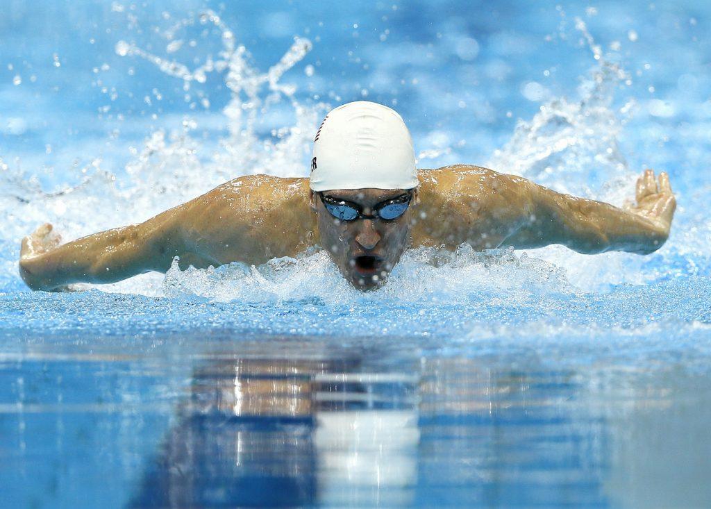 Snyder swimming