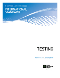 WADA_international_standard_testing