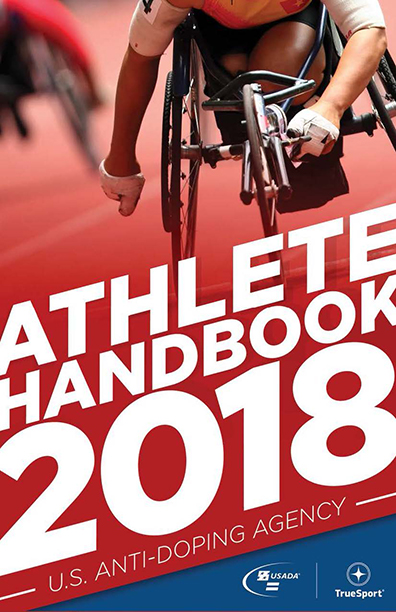 anti-doping athlete handbook