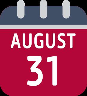 calendar--august-31