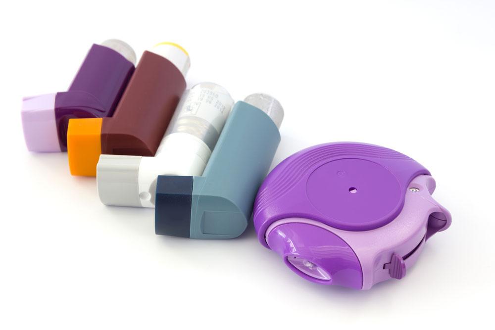 asthma inhalers drug testing