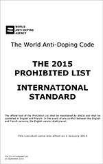 Download the WADA List PDF