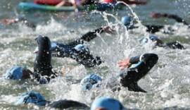 triathlon-swimmers