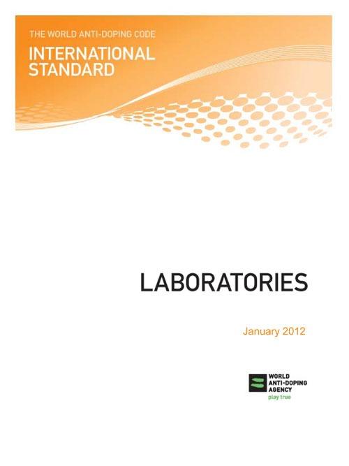 WADA International Standard for Laboratories