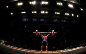 Nicole Moore weightlifting doping